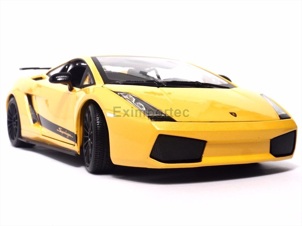1 18 Lamborghini Gallardo Superleggera Amarillo Metalico 690 00