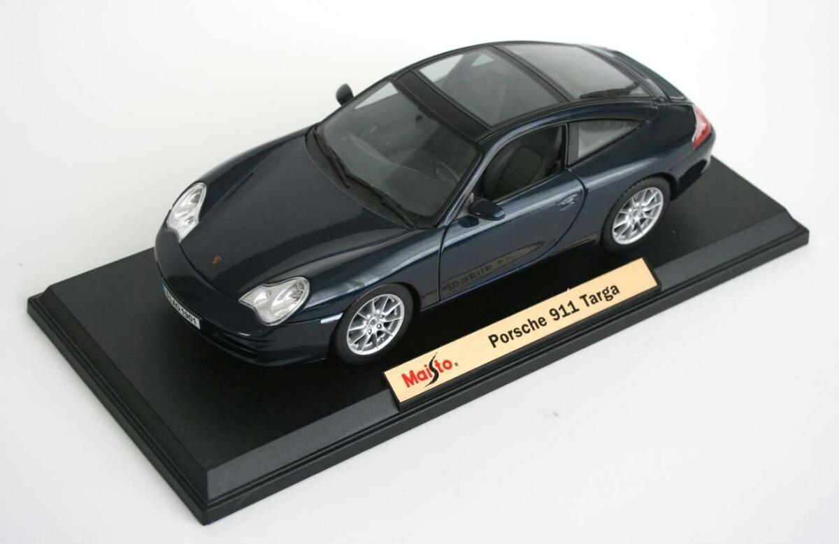 Porsche 911 Targa Escala 1 18 Maisto No Burago Envio