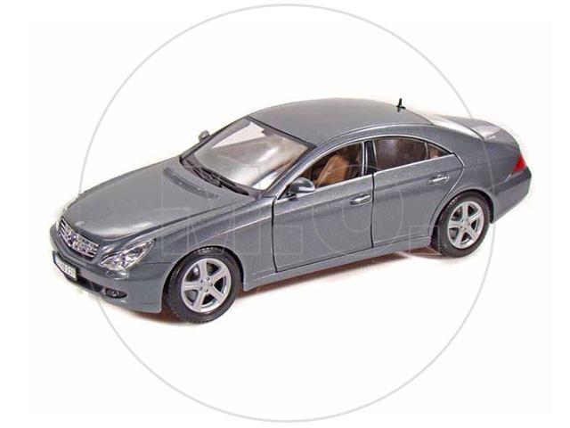 1:18   Maisto Mercedes Benz Cls Class   Cinza Chumbo