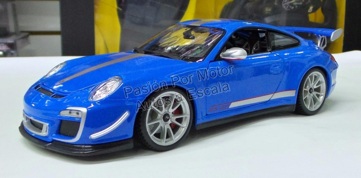 1:18 Porsche 911 Gt3 Rs 4.0 Azul Maisto Special - $ 915.00 ...