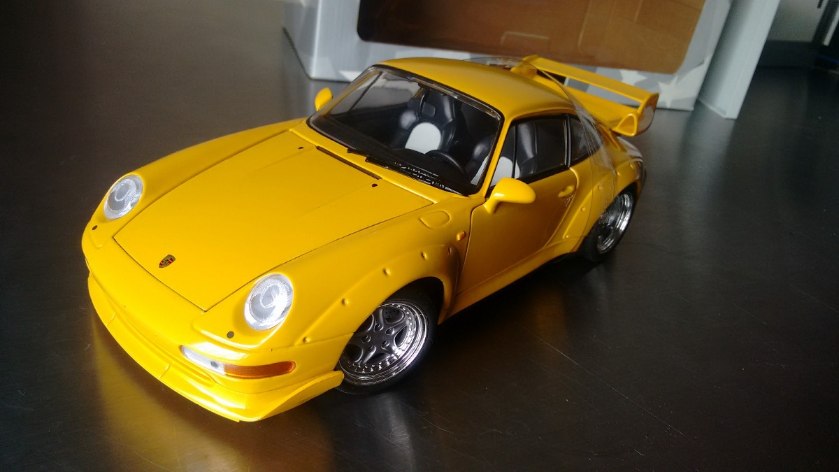 1 18 ut models 1997 porsche 911 gt2 r 336 00 em mercado livre. Black Bedroom Furniture Sets. Home Design Ideas
