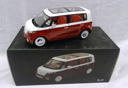 1:18 vw bulli kombi norev 2011 genebra miniatura concept van