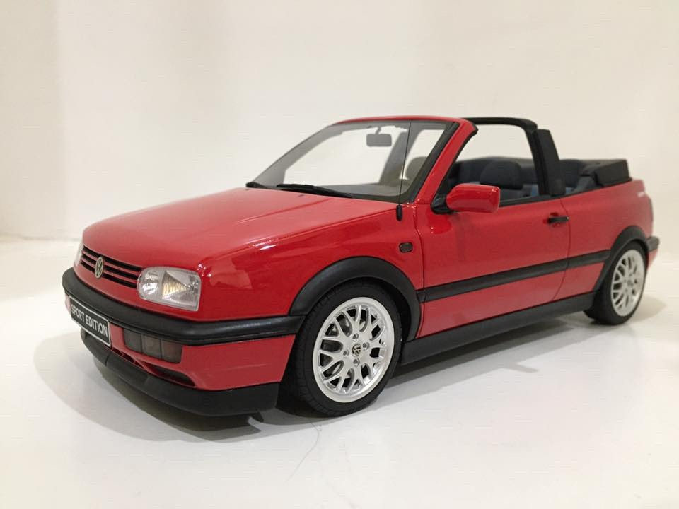 1 18 vw golf cabrio mk3 sport otto sistema de pagos. Black Bedroom Furniture Sets. Home Design Ideas