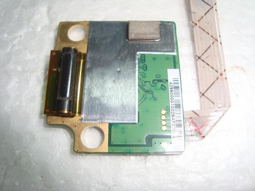 1180 - leitor biométrico com cabo hp pavilion dv4 2012br