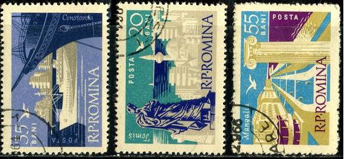 1196 construcciones barcos rumanía 3 p usadas  n h 1964