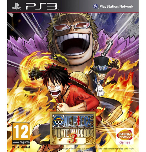 119. one piece: pirate warriors 3