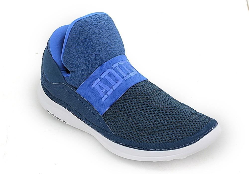 b8d405a33d5f 11bb3742-botitas adidas Cloudfoam Plus Zen Azul Blanco