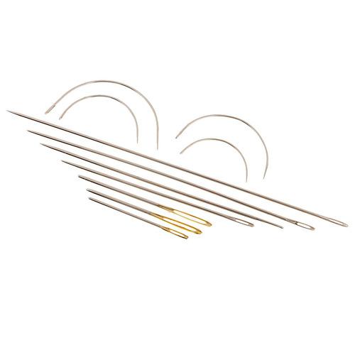 11pcs agujas de coser clasificadas de la mano fijadas para