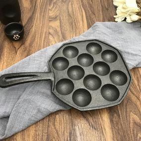 12 Agujeros Diy Takoyaki Pan Pulpo Bolas Cocción Fabricante