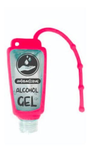 12 alcohol en gel silicona para colgar cartera reutilizable