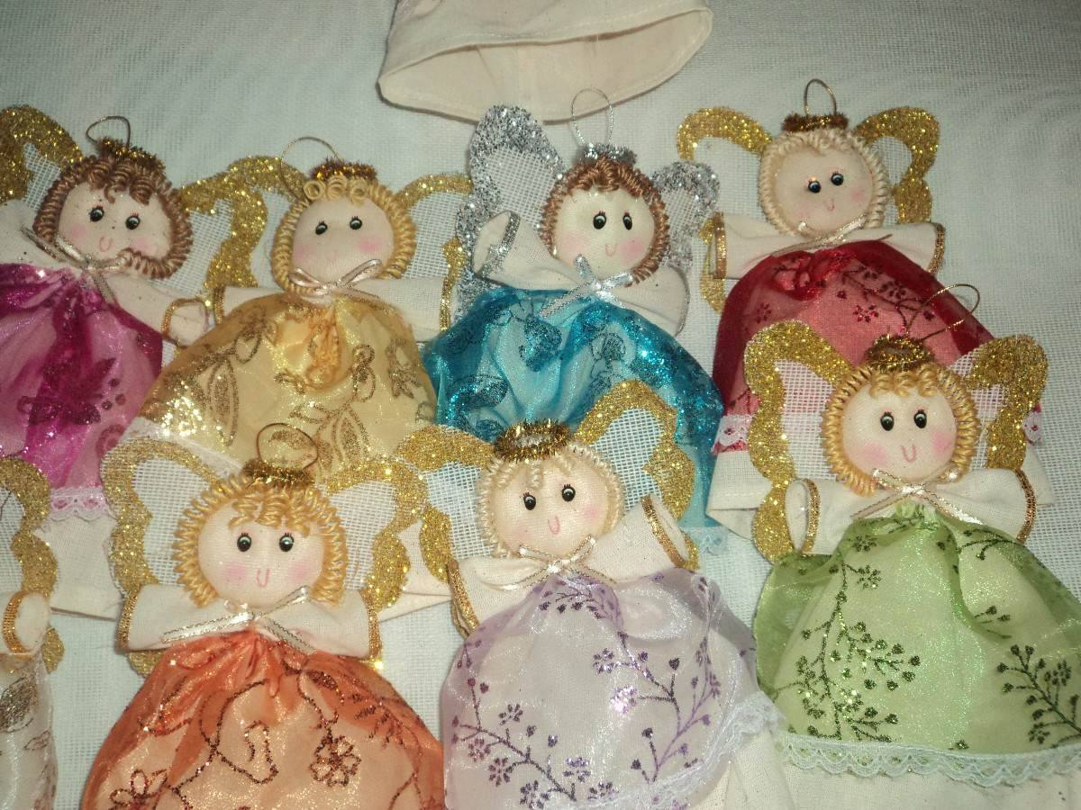 12 angeles de manta adornos navide os navidad 210 - Angeles de navidad manualidades ...