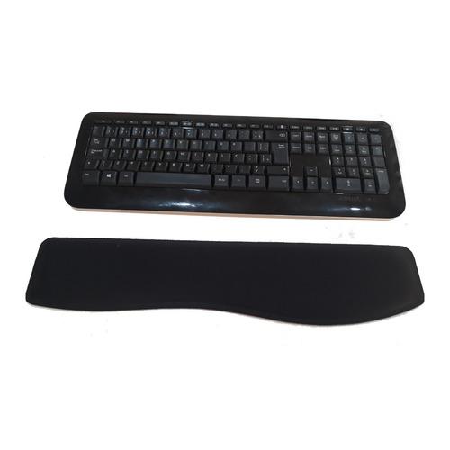 12 apoio de teclado ergonômico punho preto com nota fiscal
