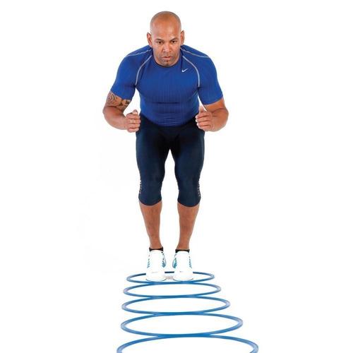 12 aros deportivos 40cm entrenamientos coordinación + bolso