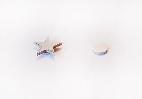 12 aros iman magneticos formas- falso expansor- piercing
