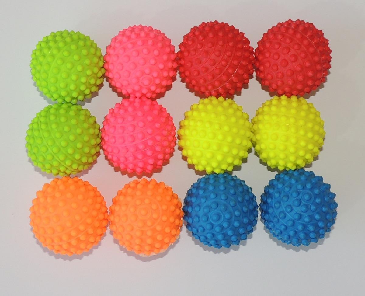 5264499f37 12 bolas cravo fisioterapia ou pet bolinha de mão colorida. Carregando zoom.