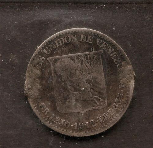 1/2 bolivar de 1912