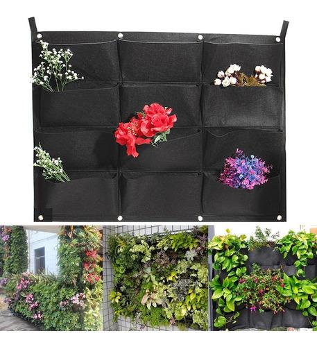 12 bolsos vertical saco plantador saco enforcamento saco par