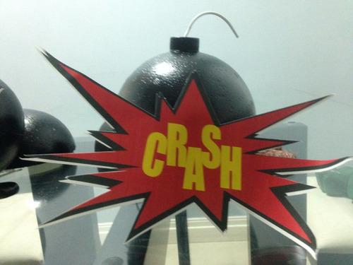 12 bombas isopor 125mm super herois vingadores bomba