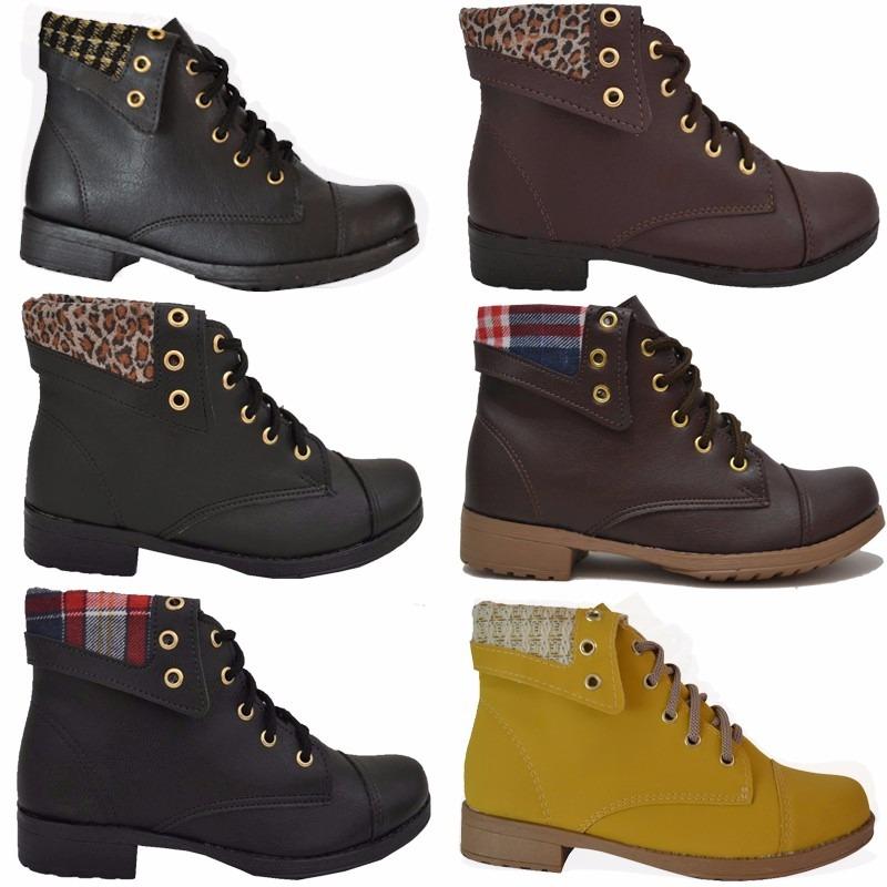 652e88f0b5 12 botas coturno feminina botinha preço fábrica de qualidade. Carregando  zoom.