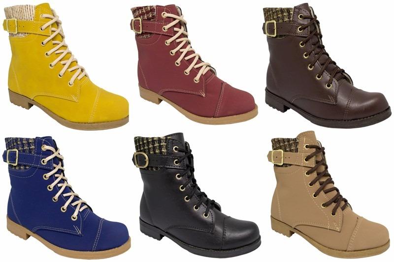 6bbfecab2d 12 botas coturno feminina para revender preço de fábrica. Carregando zoom.