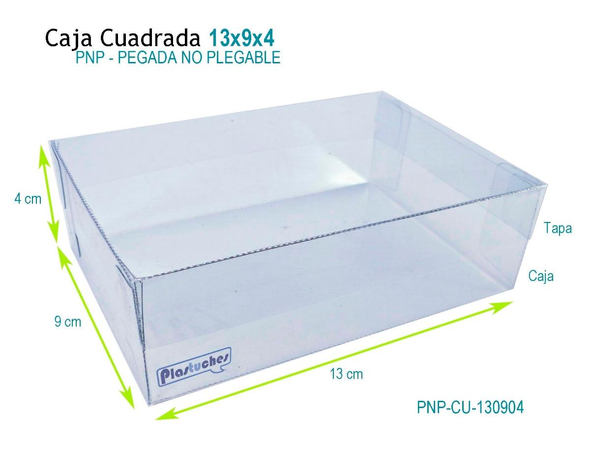 12 caja de acetato de 13x9x4 cm caja con tapa en. Black Bedroom Furniture Sets. Home Design Ideas