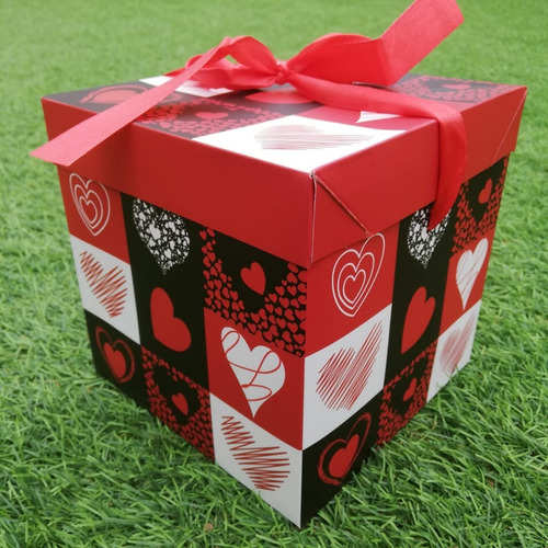 12 cajas 15 cms + 12 globos 20 cms mama madre amor regalos