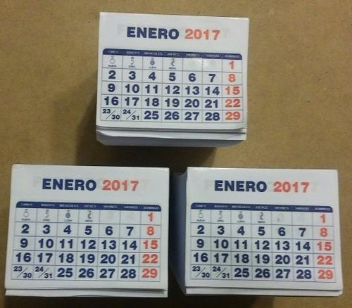 12 calendarios con magnético 2019 personalizado