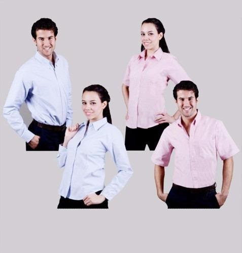 12 camisas de gabardina