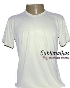 2fa0af56b9 Kit 100 Camisas Para Sublimaçao no Mercado Livre Brasil