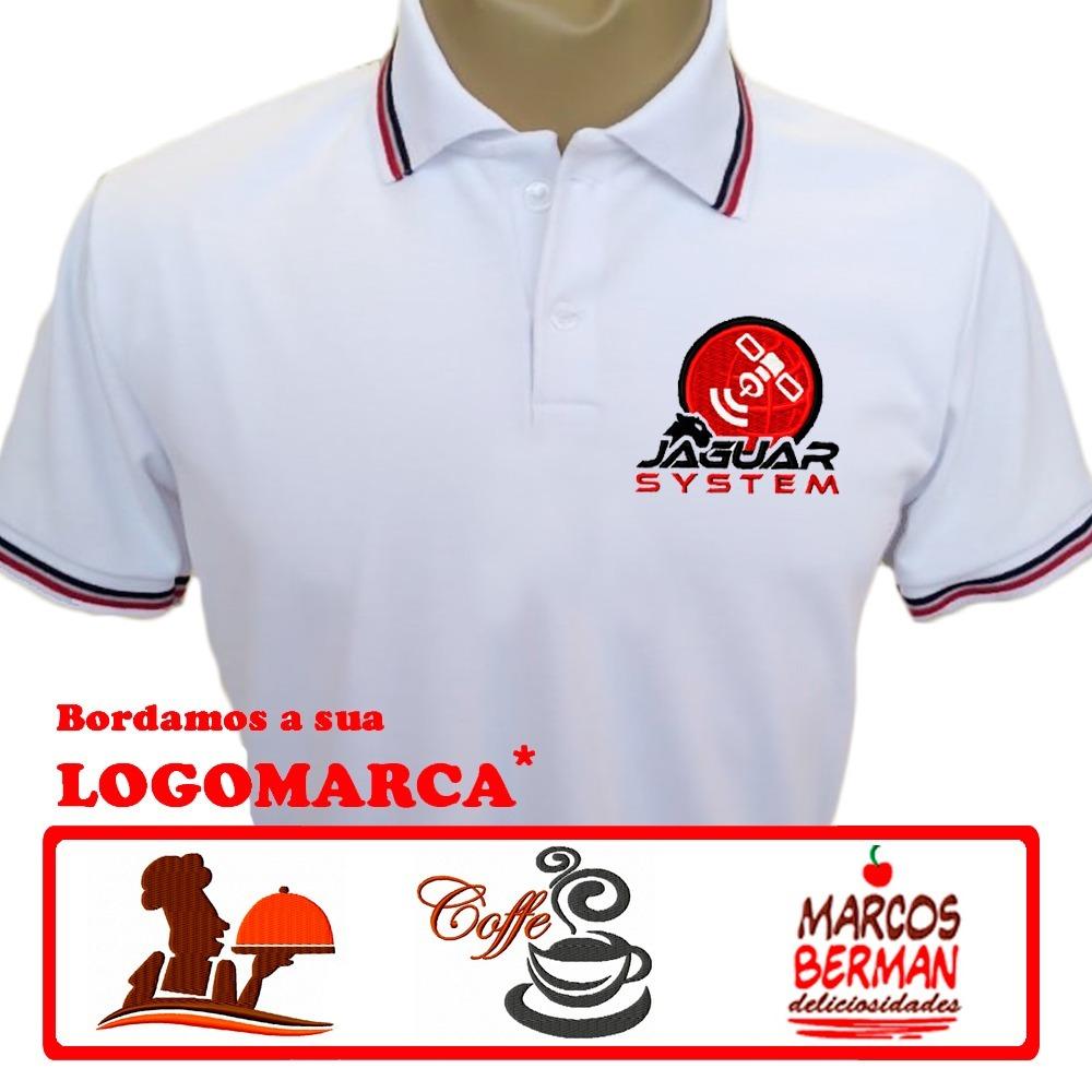 12 camisas uniforme bordado camiseta polo - produto nacional. Carregando  zoom. 438d2fc051f21