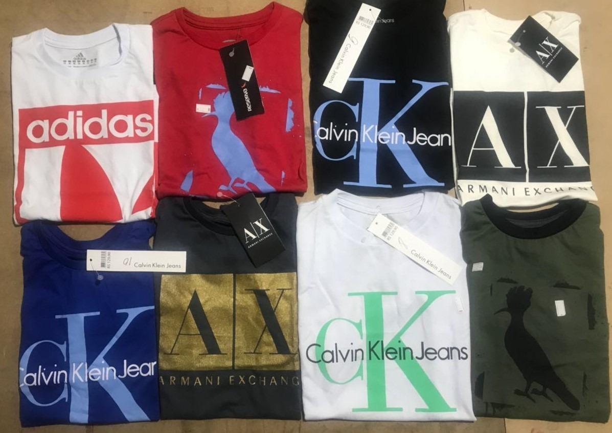 50a623857dda2 12 camisetas infantil calvin armani adidas reserv promoção. Carregando zoom.