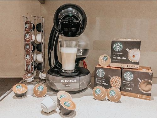 12 cápsulas dolce gusto starbucks® latte macchiato