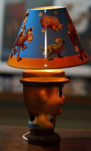 12 centro de mesa woody toy story buzz light year lampara