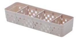 12 cestos organizador c/ divisória quadratta paramount