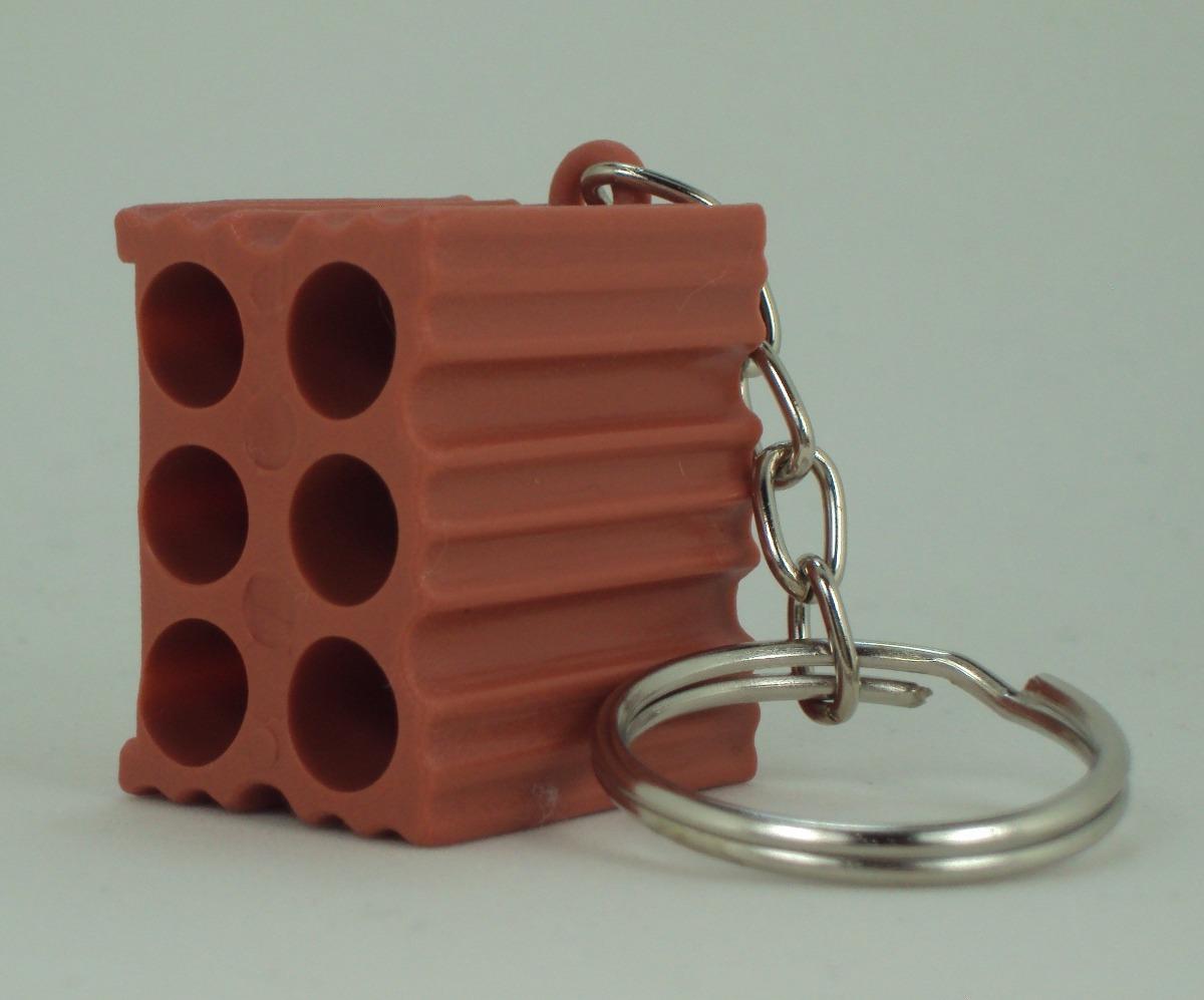 b288a984c 12 chaveiros tijolinho brindes construçao blocos. Carregando zoom.