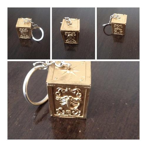 12 chaveiros urnas armadura de ouro cavaleiros do zodíaco