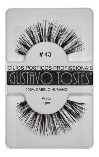 12 cílios postiços naturais cabelo humano atacado gustavo t