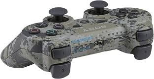 12 cuotas joystick playstation 3 dualshock camuflado digital