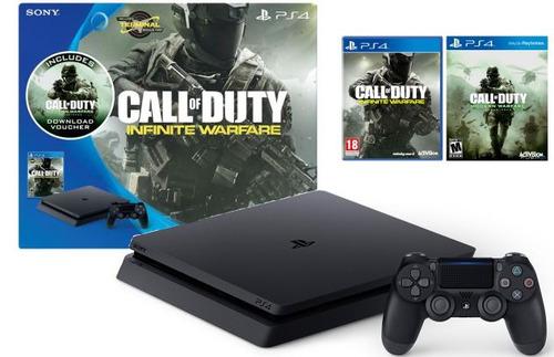 12 cuotas sin interes sony playstation 4 500gb + 2 juegos
