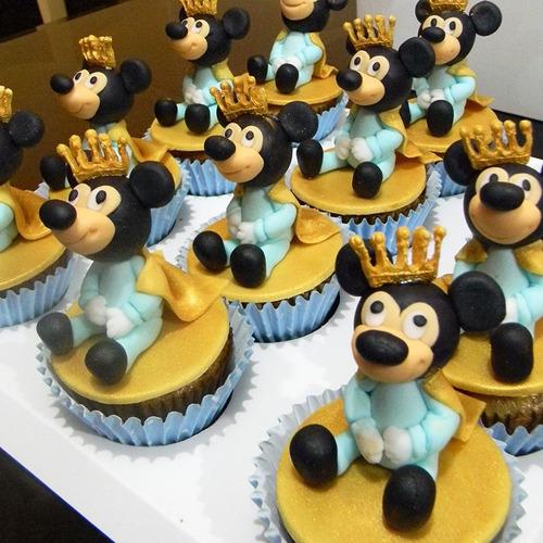 12 cupcakes full 3d personalizados - todos los temas