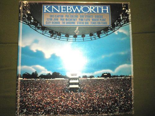 12'' disco doble en vinyl importado de knebworth live (1990)