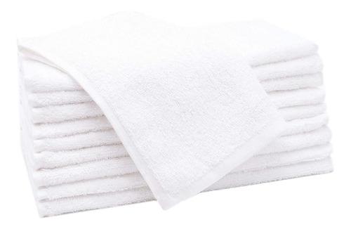 12 doce toallitas algodon souvernir  surtido colores 33x50