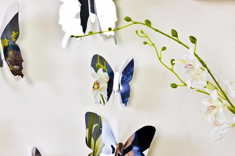 espejos decorativos diseo mariposa moderno minimalista
