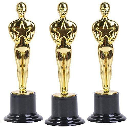 12 estatuilla premio oscar 15cm hollywood trofeo batucada