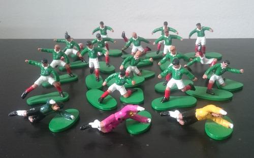 12 figuras kellogg´s selección mexicana 1994