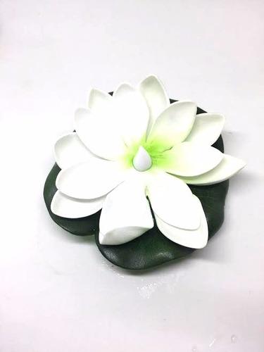 12 flores flotantes con vela led,lamparas chinas boda