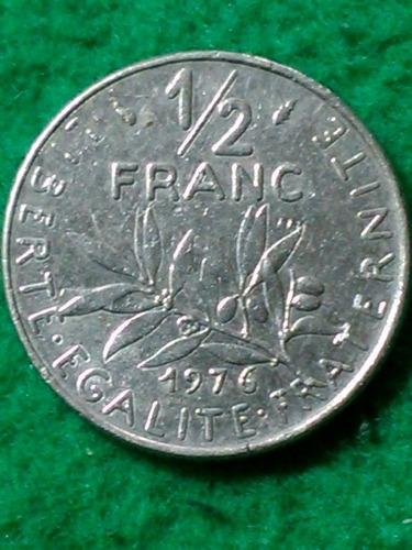 1/2 franco. francia. 1976. sembradora