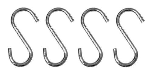 12 ganchos pq aço cozinha p/ barra utensilios suporte