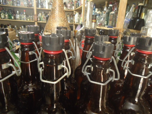 12 garrafa vazia cerveja artesanal r.russa orgulhodoml2 500