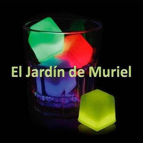 12 hielo luminoso neon se puede mezclar con hielo seco